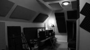 Old fashioned acoustic panels
